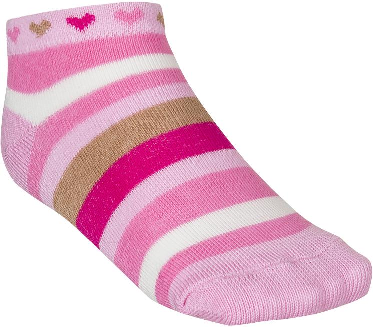 Носки для девочки Baykar, цвет: розовый, 3 пары. 185412-5. Размер 10,5/12, 6-12 месяцев185412-5Детские носки Baykar изготовлены из высококачественного эластичного хлопка с добавлением полиамида. Укороченные носки имеют эластичную резинку, которая надежно фиксирует носки на ноге. В комплект входит 3 пары носков.