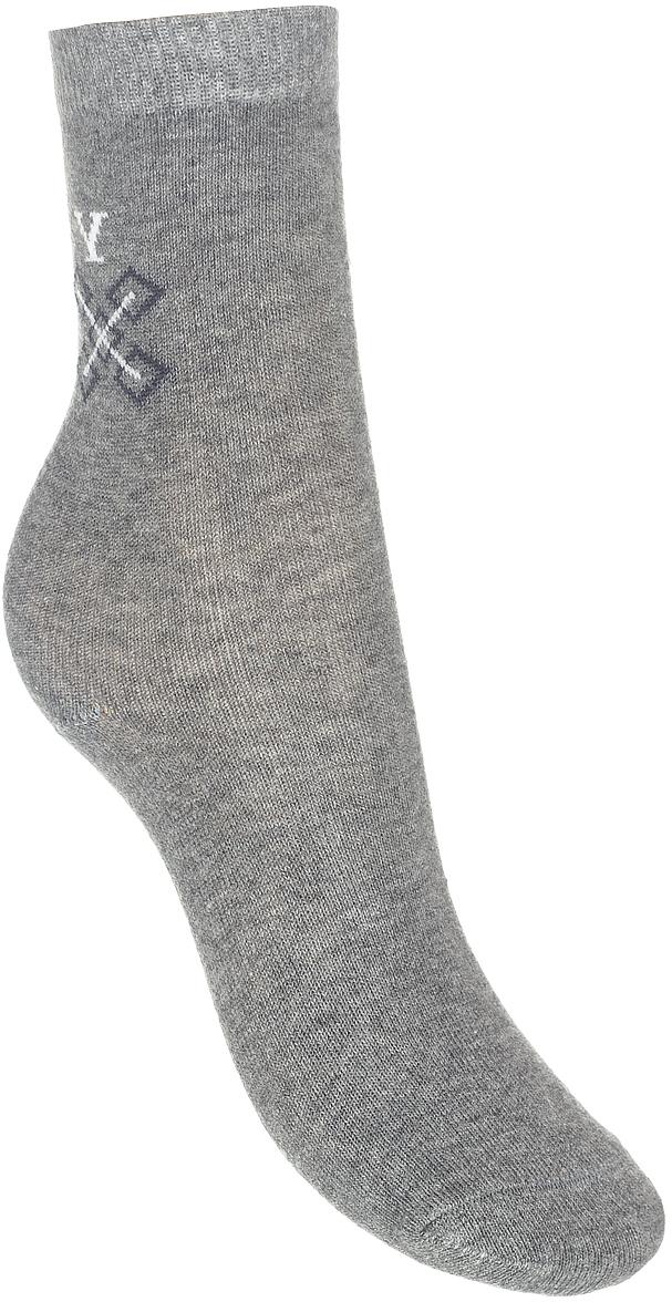 Носки детские Baykar, цвет: серый, 3 пары. 383511-20. Размер 18,5/20, 7 лет383511-20Детские носки Baykar изготовлены из высококачественного эластичного хлопка с добавлением полиамида. Носки имеют эластичную резинку, которая надежно фиксирует носки на ноге. В комплект входит 3 пары носков.