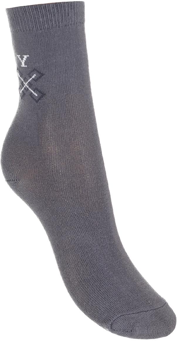 Носки детские Baykar, цвет: серый меланж, 3 пары. 383511-82. Размер 18,5/20, 7 лет383511-82Детские носки Baykar изготовлены из высококачественного эластичного хлопка с добавлением полиамида. Носки имеют эластичную резинку, которая надежно фиксирует носки на ноге. В комплект входит 3 пары носков.