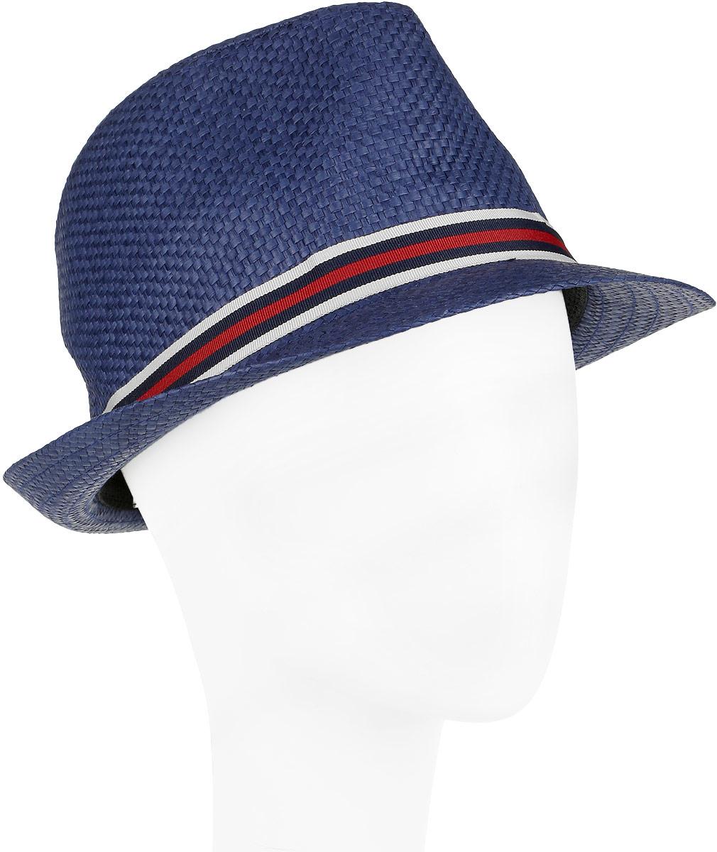 Шляпа женская Fabretti, цвет: голубой. V1-5. Размер универсальныйV1-5 BLUEСтильная шляпа для пляжного отдыха и прогулок в солнечные дни.