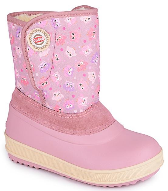 Дутики для девочки Olang, цвет: розовый. Roger 840. Размер 23/24Roger 840Элегантные сапоги Olang точно понравятся вашей девочке! Модель выполнена из эко-кожи и украшена стильной декоративной застежкой в верхней части обуви. Комфорт детским ногам обеспечит утепленная подкладка с натуральной шерстью и подошва из полимерного материала с антискользящей системой. Материал верха: 90% искусственная кожа, 10% эко-замша, материал подклади: искусственный мех.