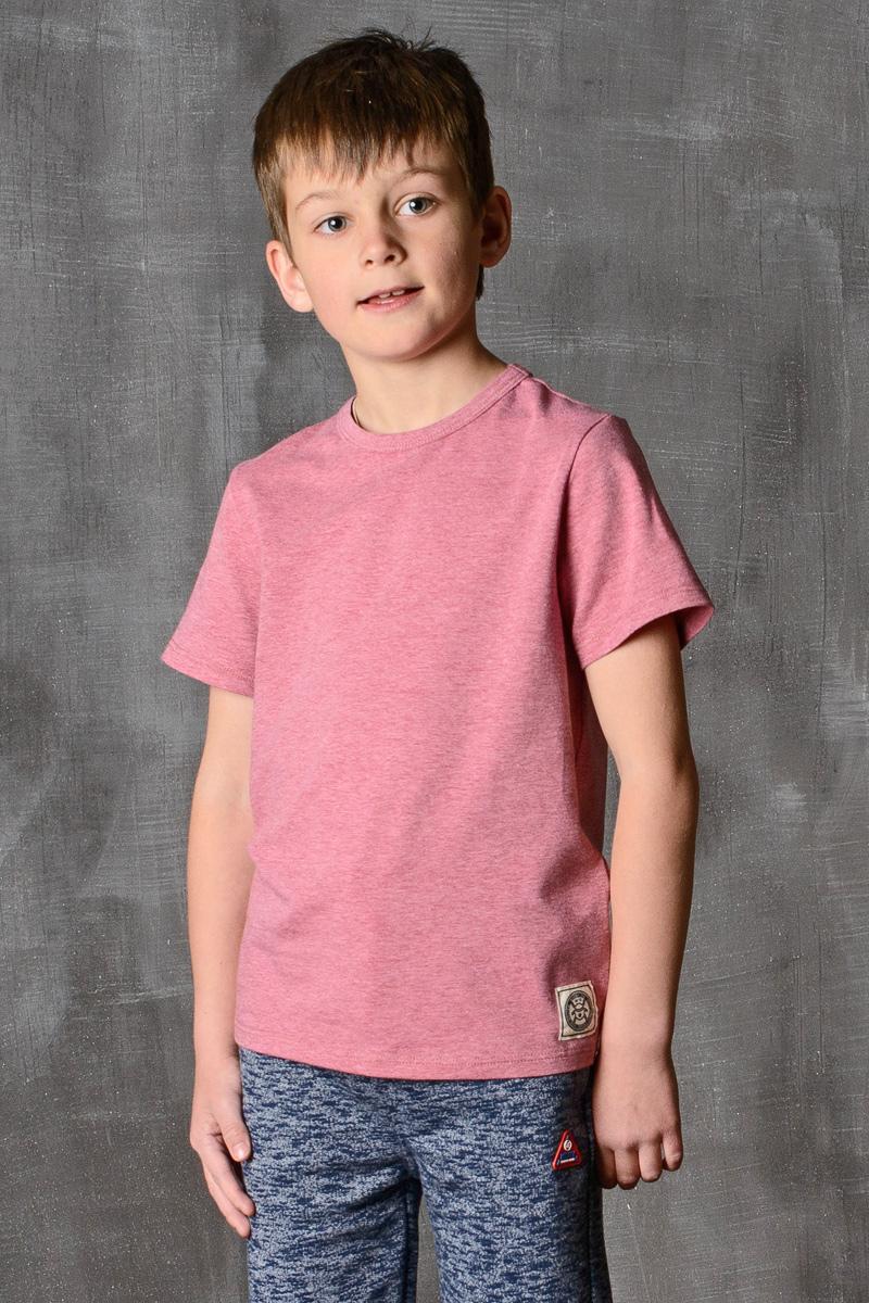 Футболка для мальчика Modniy Juk, цвет: бордовый. 01B00110102. Размер 164/17001B00110102/MODNIY_JUK/Стильная футболка для мальчика Modniy Juk изготовлена из высококачественного легкого хлопка, она приятна на ощупь, не раздражает нежную и чувствительную кожу ребенка, позволяя ей дышать. Модель имеет полуприлегающий силуэт, круглый вырез горловины не стесняет движения. Изделие дополнено ярким принтом в стиле Modniy Juk.