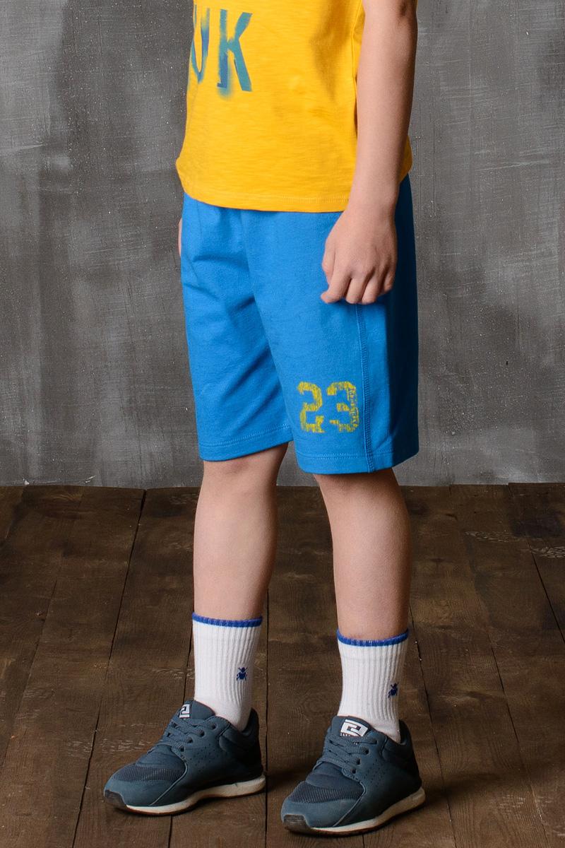 Шорты для мальчика Modniy Juk, цвет: бирюза. 10B00190302. Размер 164/17010B00190302//Шорты для мальчика Modniy Juk изготовлены из высококачественного износостойкого мягкого трикотажа, он приятный на ощупь, не раздражает нежную и чувствительную кожу ребенка, позволяя ей дышать. Модель с поясом из трикотажной резинки, надежно фиксирует шорты и не сдавливает живот ребенка. Изделие имеет полуприлегающий силуэт, длина по колено. Задний накладной карман. Шорты дополнены ярким принтом в стиле Modniy Juk.