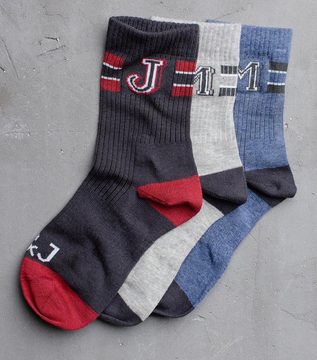Носки для мальчика Modniy Juk, цвет: мультиколор. Socks 20/Logo. Размер 20/22Socks 20/Logo/Стильные носки для мальчика Modniy Juk изготовлены из высококачественного материала, они приятны на ощупь, не раздражают нежную и чувствительную кожу ребенка, позволяя ей дышать. Модель отлично облегает стопу. Усиленный мысок и пятка продлят срок эксплуатации. Изделие дополнено логотипом в стиле Modniy Juk.