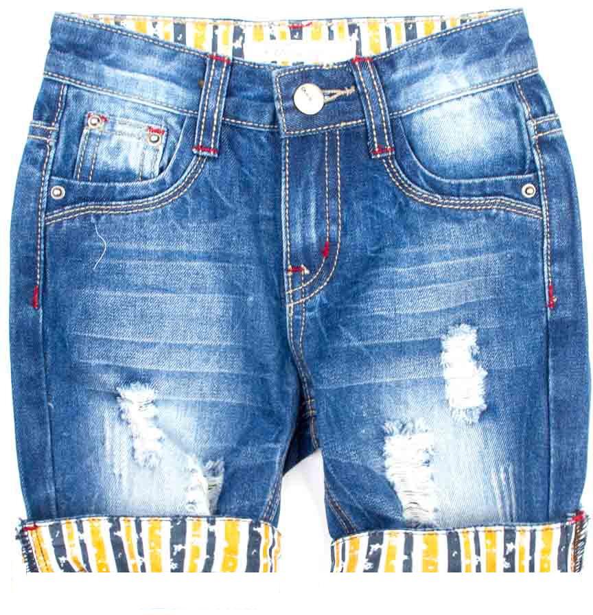 Шорты для мальчика Vitacci, цвет: синий. 1172049-04. Размер 1161172049-04Всегда актуальные джинсовые шорты для мальчика, классическая длина и оригинальные отвороты контрастного цвета делают модель модной и удобной.