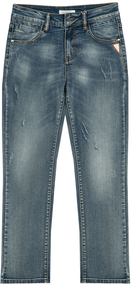 Джинсы для мальчика Vitacci, цвет: синий. 1172140-04. Размер 1401172140-04Джинсы для модных подростков в сочетании с оригинальной футболкой или рубашкой создадут неповторимый образ и позволят чувствовать себя комфортно в любой ситуации.