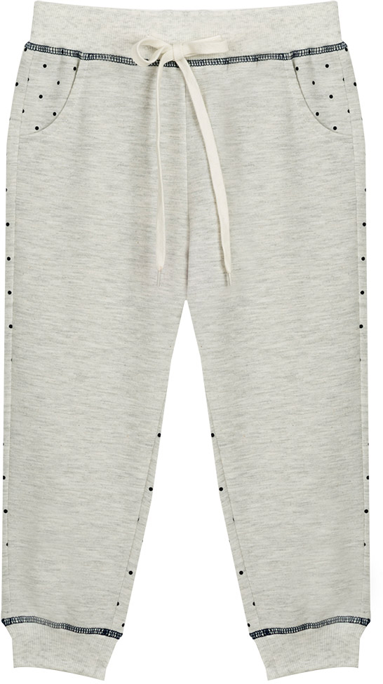 Брюки для девочки Vitacci, цвет: серый. 2172124-02. Размер 1222172124-02Удобные трикотажные брюки свободного кроя - отличная модель для отдыха на природе и занятий спортом.