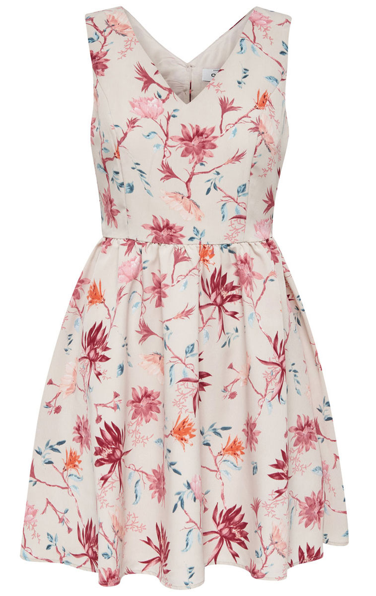 Платье женское Only, цвет: розовый. 15135255_Pink Tint. Размер 36 (42)15135255_Pink TintНежное женское платье Only без рукавов с симпатичным V-образным вырезом, станет прекрасным дополнением к Вашему гардеробу. Платье приталенное, оно предаст еще более привлекательный силуэт своей владелице. Данная модель прекрасно освежит ваш летний гардероб.