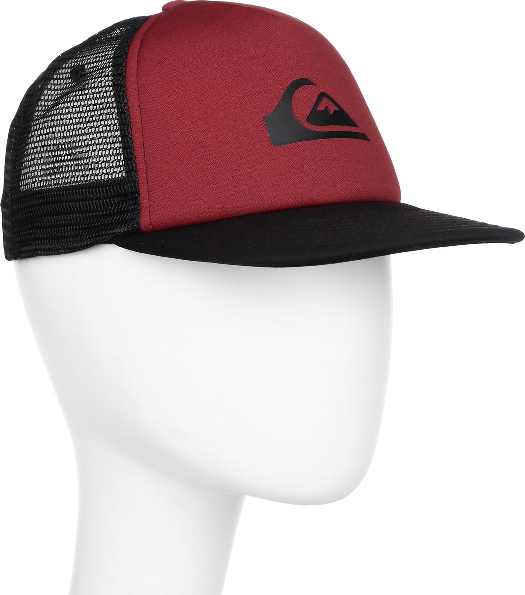 Бейсболка муж Quiksilver Snap Addict, цвет: красный. AQYHA03528-RRD0. Размер универсальныйAQYHA03528-RRD0