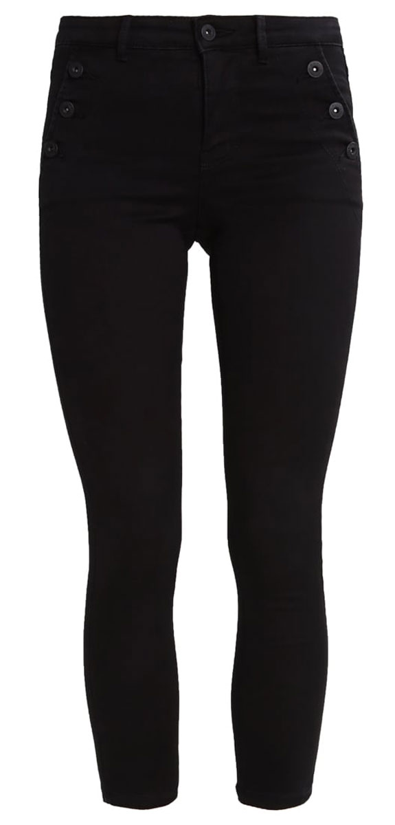 Джинсы женские Only, цвет: черный. 15135240_Black. Размер L-30 (48-30)15135240_BlackСтильные женские джинсы Only - это джинсы высокого качества, которые прекрасно сидят. Они обеспечивают комфорт и удобство при носке. Прямые джинсы-скинни станут отличным дополнением к вашему современному образу. Джинсы застегиваются на пуговицу в поясе и ширинку на застежке-молнии, имеются шлевки для ремня. Эти модные и в тоже время комфортные джинсы послужат отличным дополнением к вашему гардеробу.