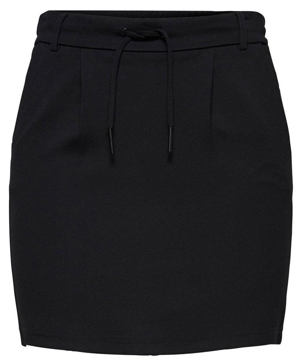 Юбка женская Only, цвет: черный. 15132895_Black. Размер L (48)15132895_BlackСтильная женская юбка Only, изготовлена из высококачественного материала, создана для модных и смелых девушек.Модель с резинкой на поясе и завязками. В этой модной юбке вы будете чувствовать себя уверенно, оставаясь в центре внимания.
