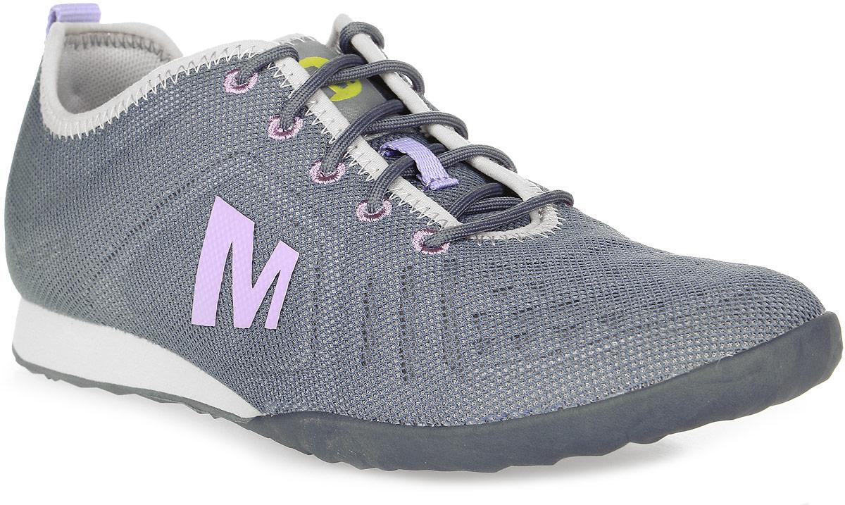 Кроссовки женские Merrell Civet Lace, цвет: серый. J03844. Размер 7H (38)J03844Женские кроссовки Merrell выполнены из легкоготекстиля. Подкладка из воздухопроницаемой сетки с антибактериальной пропиткой M Select™ FRESH для оптимального микроклимата. Шнуровка надежно зафиксирует модель на ноге.Подошва облегченная, M Select™ GRIP для надежного сцепления с поверхностью.