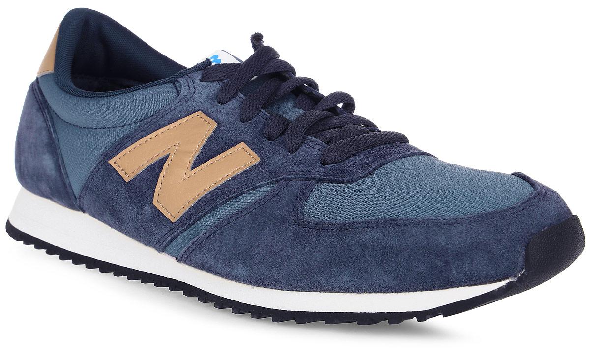 Кроссовки мужские New Balance 420, цвет: темно-синий. U420PNT/D. Размер 11 (45)U420PNT/DСтильные мужские кроссовки от New Balance придутся вам по душе. Верх модели выполнен из высококачественныхматериалов. По бокам обувь оформлена декоративными элементами в виде фирменного логотипа бренда, на язычке - фирменной нашивкой, задник логотипом бренда. Классическая шнуровка надежно зафиксирует изделие на ноге. Подошва оснащена рифлением для лучшей сцепки с поверхностями. Удобные кроссовки займут достойное место среди коллекции вашей обуви.