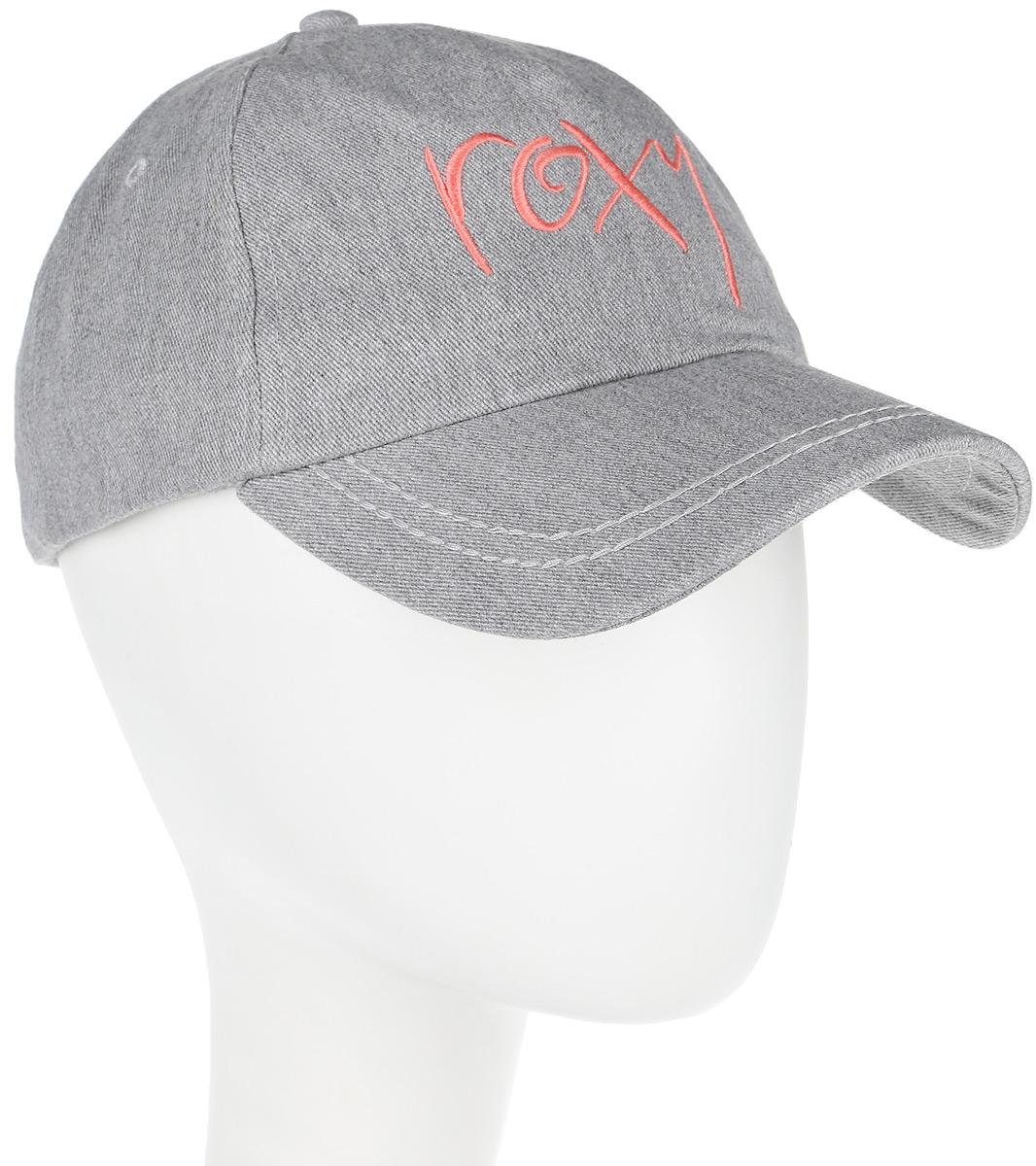 Бейсболка женская Roxy Extra Innings, цвет: серый. ERJHA03225-SGRH. Размер универсальныйERJHA03225-SGRH