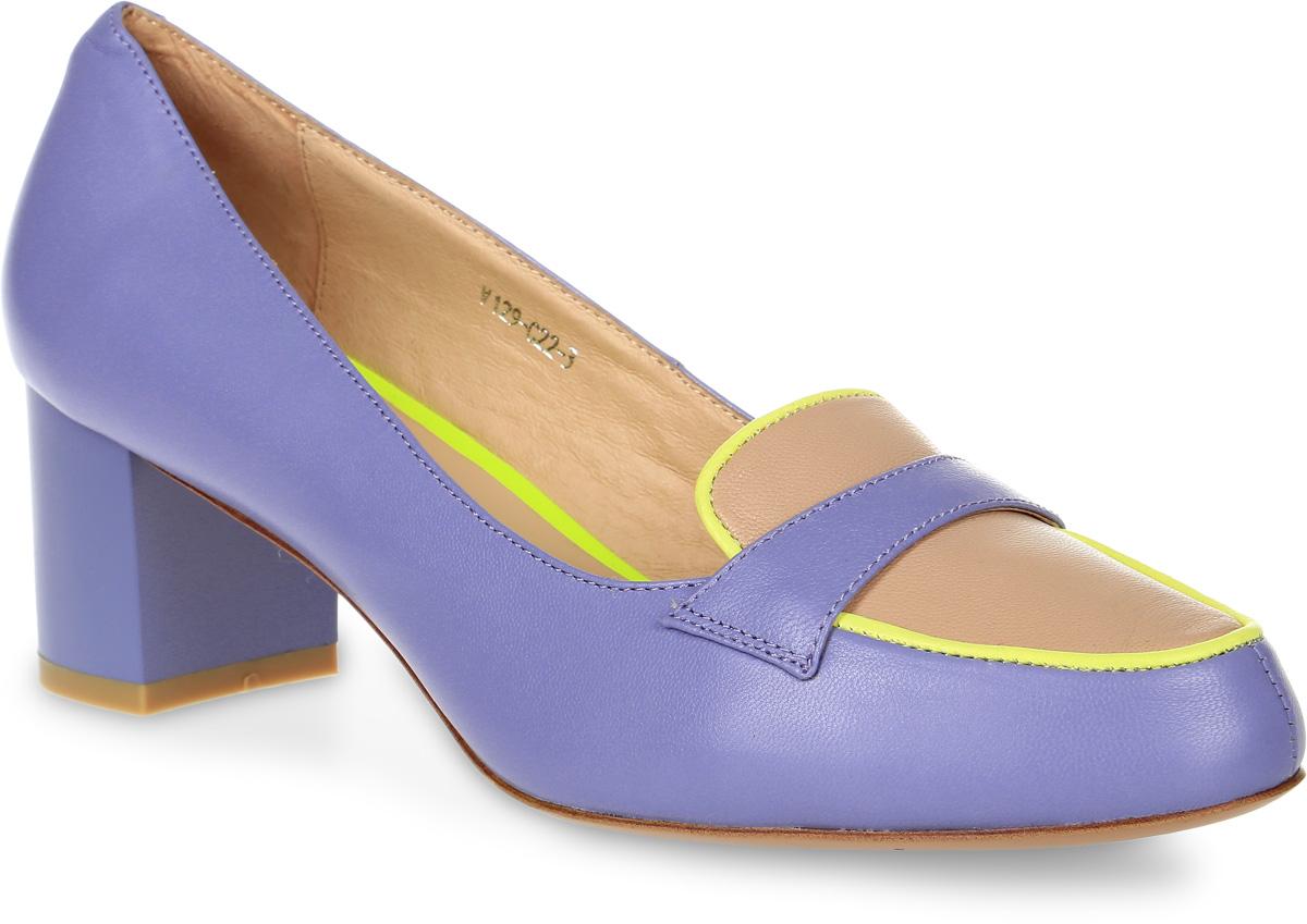 Туфли женские Graciana, цвет: голубой. V129-C22-3. Размер 36V129-C22-3Женские туфли от Graciana на устойчивом каблуке выполнены из натуральной кожи. Подкладка, изготовленная из натуральной кожи, обладает хорошей влаговпитываемостью и естественной воздухопроницаемостью. Стелька из натуральной кожи гарантирует комфорт и удобство стопам. Подошва из ТЭП-материала обеспечивает хорошую амортизацию и сцепление с любой поверхностью.