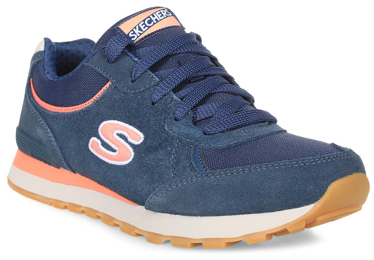 Кроссовки женские Skechers Og 82 - Classic Kicks, цвет: темно-синий. 142-BLCL. Размер 6 (36)142-BLCLСтильные легкие женские кроссовки Skechers подходят как для занятий спортом, так и для повседневных прогулок. Верх модели выполнен из дышащего текстиля и натуральной замши. Классическая шнуровка надежно зафиксирует модель на стопе. Внутренняя отделка исполнена из мягкого текстиля. Гибкая анатомическая подошва имеет рельефный протектор, который обеспечивает надежное сцепление с поверхностью.В таких кроссовках вашим ногам будет комфортно и уютно. Они подчеркнут ваш стиль и индивидуальность!