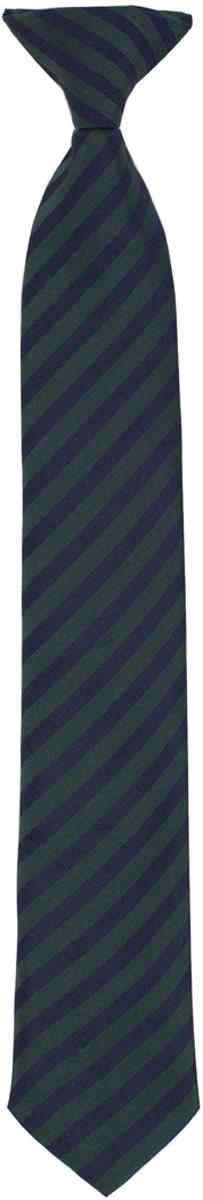 Галстук для мальчика Gulliver, цвет: темно-синий, темно-зеленый. 217GSBC8606. Размер 146/164217GSBC8606Красивый галстук для школьной формы - достойное завершение делового ансамбля. Для удобства и экономии драгоценного утреннего времени, модель имеет аккуратную прищепку в невидимой зоне, позволяющую в течение нескольких секунд прикрепить галстук к воротнику рубашки. Купить галстук на прищепке, значит, приобрести стильный и удобный аксессуар для создания образа серьезного, уверенного в себе юноши.