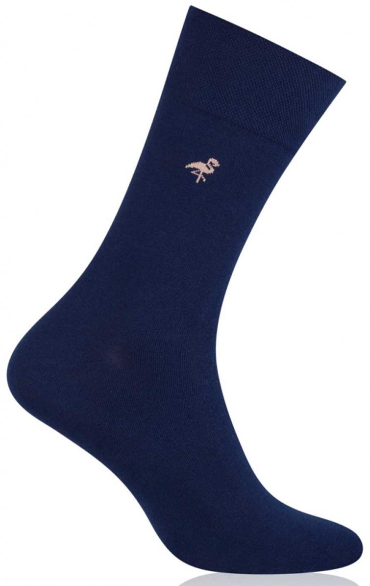 Носки мужские More, цвет: темно-синий. 051 (034). Размер 39/42051 (034)Стильные деловые мужские носки More изготовлены из высококачественного хлопка, они приятны на ощупь, не раздражают кожу, позволяя ей дышать. Модель отлично облегает стопу. Имеют удобную не сдавливающую резинку.Изделие дополнено принтом.