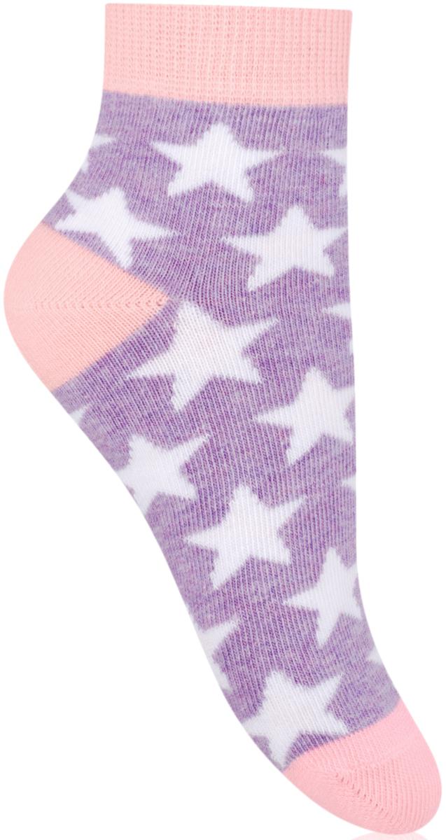 Носки для девочки Steven, цвет: фиолетовый, розовый. 004 (RG113). Размер 32/34004 (RE113)/004 (RF113)/004 (RG113)Носки Steven изготовлены из качественного материала на основе хлопка. Модель имеет мягкую эластичную резинку. Носки хорошо держат форму и обладают повышенной воздухопроницаемостью.