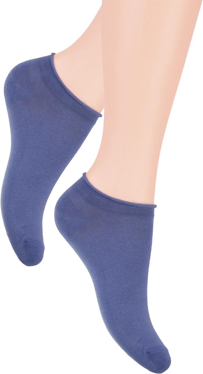 Носки женские Steven, цвет: джинсовый. 041 (GX15). Размер 38/40041 (GZ15)/041 (GX15)Носки Steven изготовлены из качественного материала на основе хлопка. Укороченная модель имеет мягкую эластичную резинку. Носки хорошо держат форму и обладают повышенной воздухопроницаемостью.