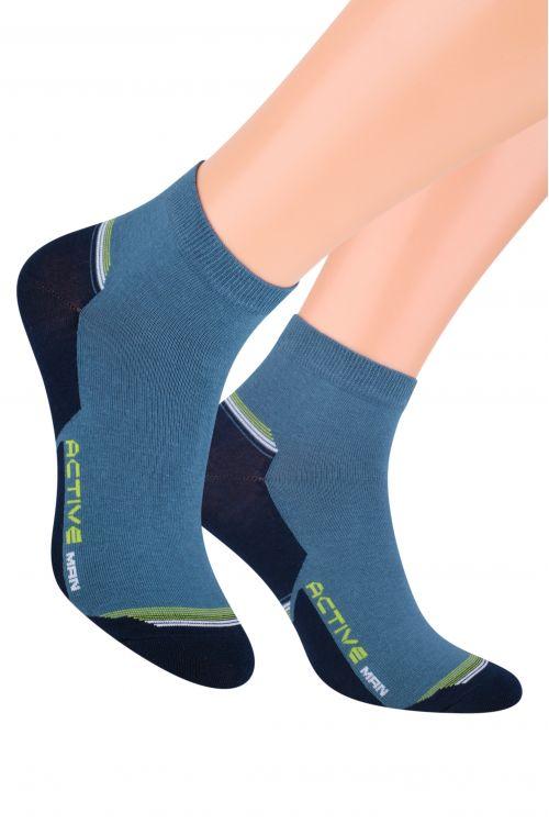 Носки мужские Steven, цвет: сине-зеленый, темно-синий. 054 (F117). Размер 44/46054 (F117)/054 (E117)Носки Steven изготовлены из качественного материала на основе хлопка. Модель имеет мягкую эластичную резинку. Носки хорошо держат форму и обладают повышенной воздухопроницаемостью.