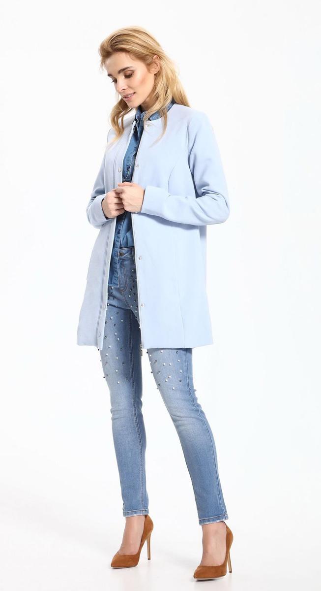 Джинсы женские Top Secret, цвет: синий. SSP2517NI. Размер 42 (48)SSP2517NIСтильные женские джинсы Top Secret выполнены из хлопка с добавлением эластана. Материал мягкий и приятный на ощупь, не сковывает движения и позволяет коже дышать. Джинсы-скинни со средней посадкой застегиваются на пуговицу в поясе и ширинку на застежке-молнии. На поясе предусмотрены шлевки для ремня. Спереди модель дополнена двумя втачными карманами и одним накладным кармашком, сзади - двумя накладными карманами. Модель спереди расшита бусинами.