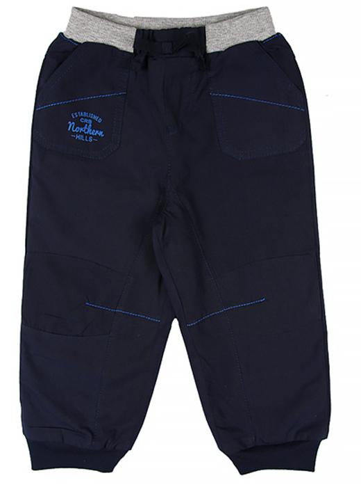 Брюки для мальчика Cherubino, цвет: темно-синий. CB 7T046. Размер 98CB 7T046Текстильные брюки для мальчика Cherubino, на подкладке из флиса. Изделие имеет трикотажный пояс на шнуровке, надежно фиксирующий брюки и не сдавливающую животик ребенка. Манжеты по низу брючин. Имеются карманы.