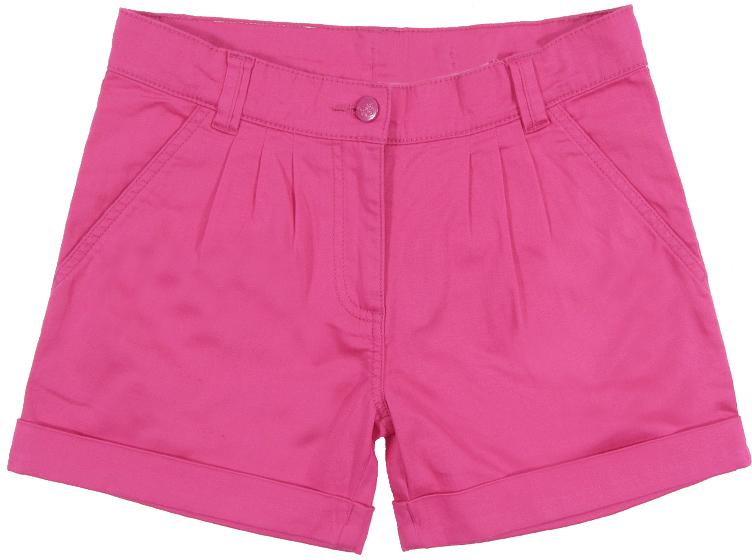 Шорты для девочки Cherubino, цвет: розовый. CJ 7T031. Размер 128CJ 7T031Шорты для девочки Cherubino изготовлены из хлопкового текстиля с эластаном. Модель дополнена карманами спереди и сзади.