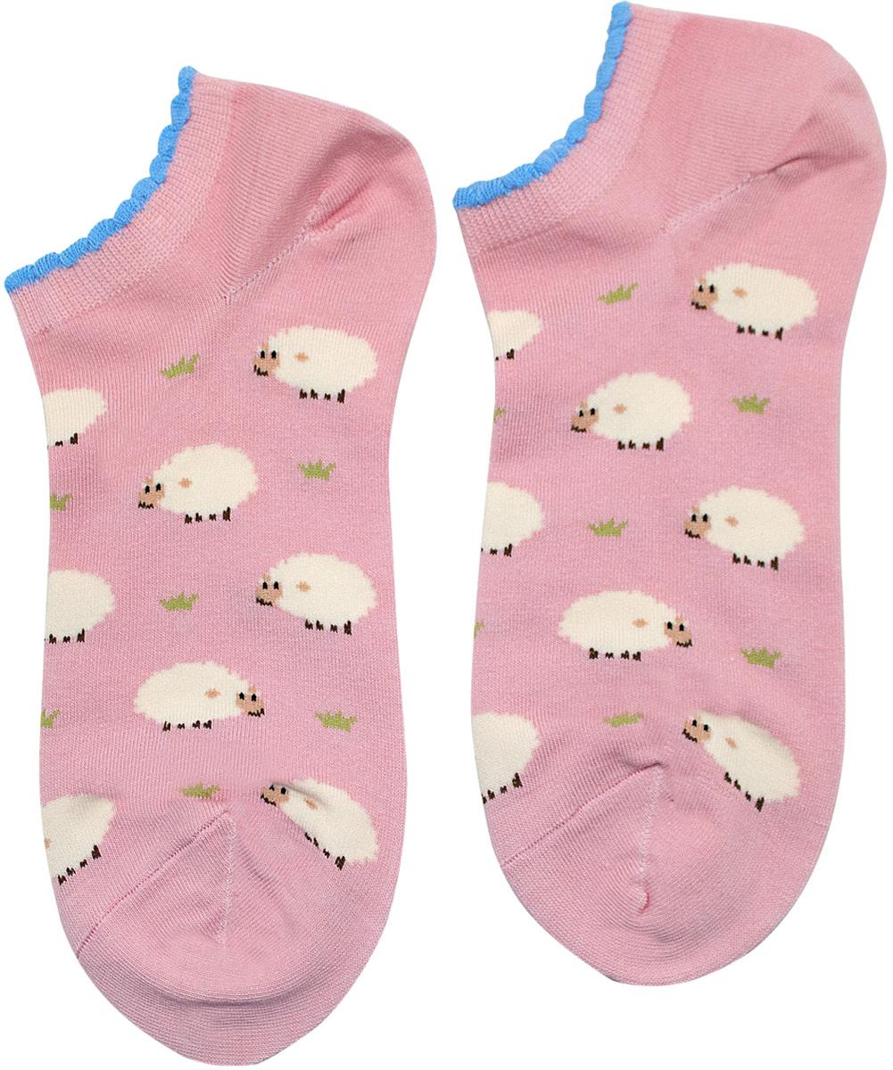 Носки женские Kawaii Factory Овцы, цвет: розовый. 2000000049762. Размер 35/402000000049762Носки Kawaii Factory изготовлены из качественного материала на основе хлопка. Модель имеет мягкую эластичную резинку. Носки хорошо держат форму и обладают повышенной воздухопроницаемостью.