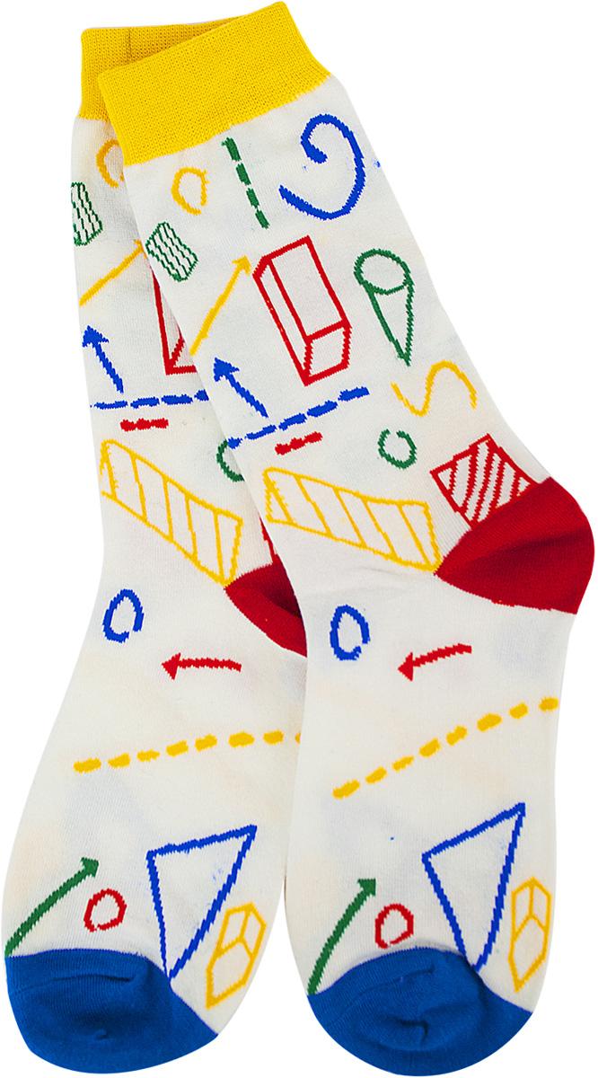 Носки женские Kawaii Factory Школьные, цвет: белый. 2006000073028. Размер 36/402006000073028Носки Kawaii Factory изготовлены из качественного материала на основе хлопка. Модель имеет мягкую эластичную резинку. Носки хорошо держат форму и обладают повышенной воздухопроницаемостью.