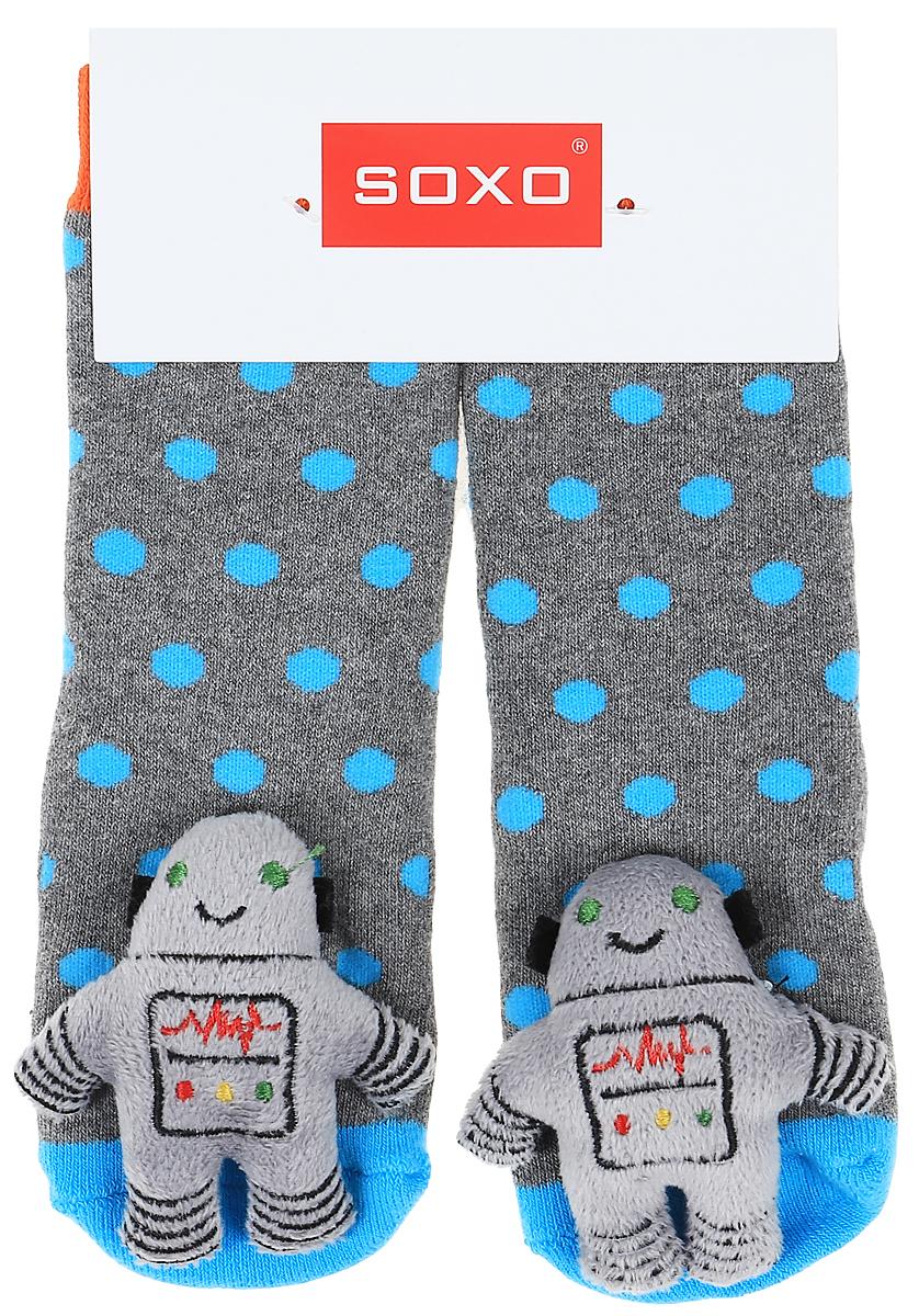 Носки детские Soxo, цвет: серый. 68728_4. Размер 19/2168728_4