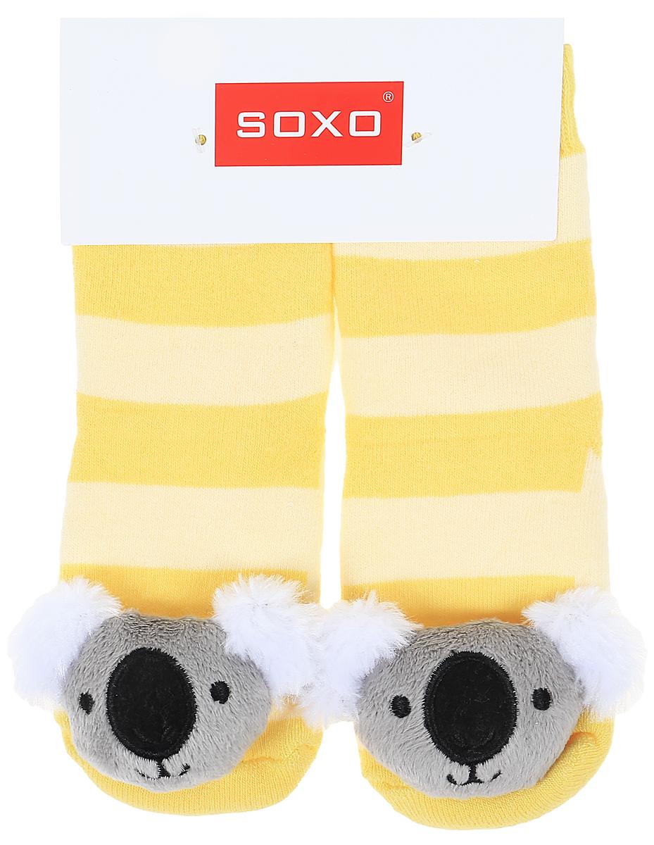 Носки детские Soxo, цвет: желтый. 77980_3. Размер 19/2177980_3