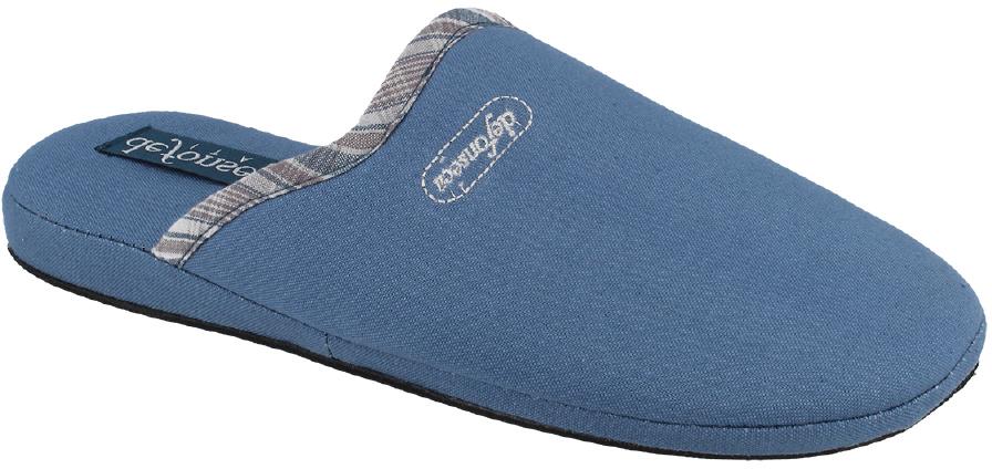 Тапки мужские Defonseca, цвет: синий. CAGLIARIM143. Размер 40CAGLIARIM143Домашние тапки от Defonseca выполнены из качественного текстиля. Внутренняя часть выполнена из мягкого текстиля. Подошва изготовлена из легкой и гибкой резины.