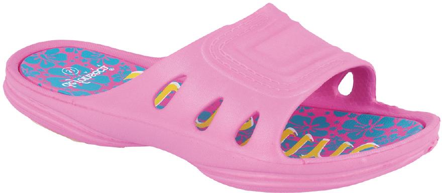 Шлепанцы для девочки Defonseca, цвет: розовый. RECCO G42. Размер 31RECCO G42Удобные шлепанцы Defonseca незаменимы для пляжного сезона. Легкая модель полностью выполнена из качественного полимерного материала.