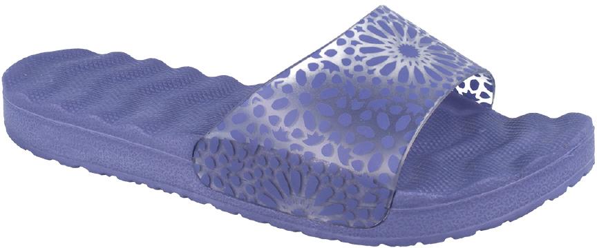 Шлепанцы женские Defonseca, цвет: фиолетовый. RECCO W49. Размер 38RECCO W49Удобные шлепанцы Defonseca незаменимы для пляжного сезона. Легкая модель с прозрачным верхом полностью выполнена из качественного полимерного материала.