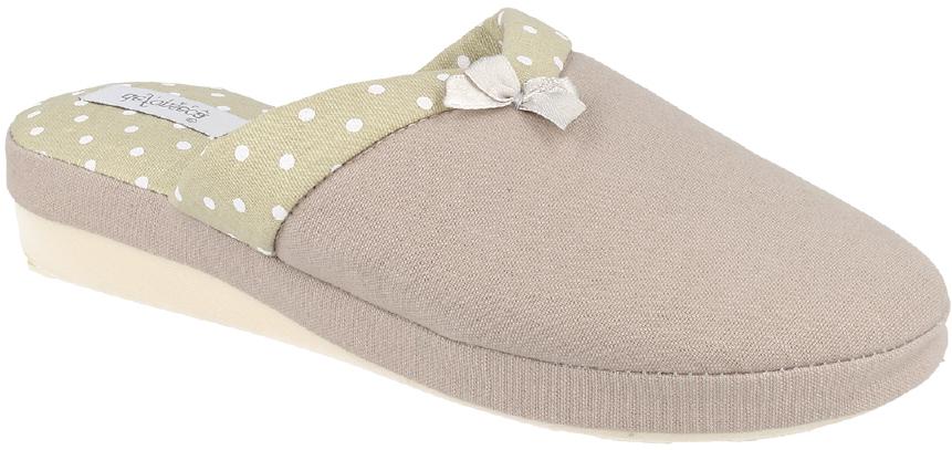 Тапки женские Defonseca, цвет: серый. VERONA W147. Размер 37VERONA W147Домашние тапочки от Defonseca выполнены из качественного яркого текстиля. Внутренняя часть выполнена из мягкого текстиля. Подошва с небольшим подъемом изготовлена из легкой и гибкой резины.