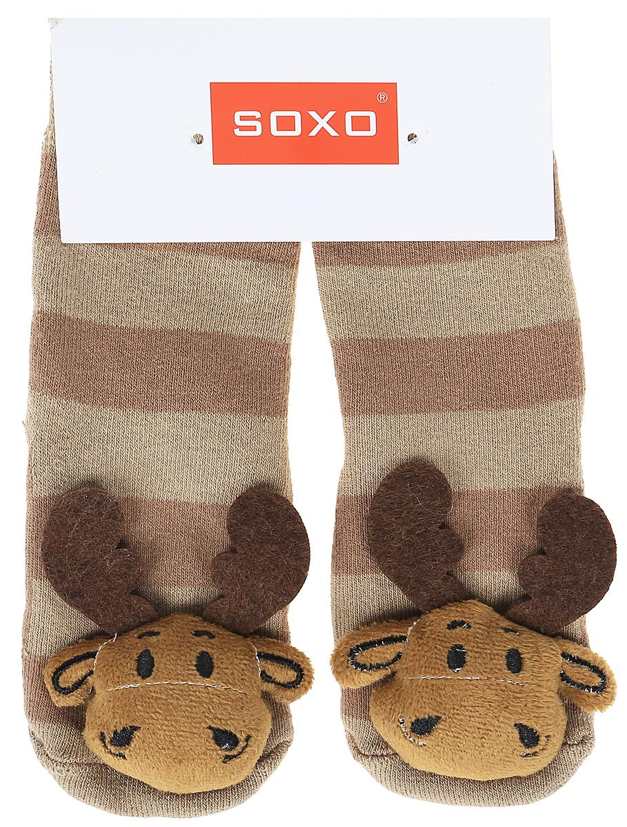 Носки детские Soxo, цвет: коричневый. 77980_5. Размер 19/2177980_5