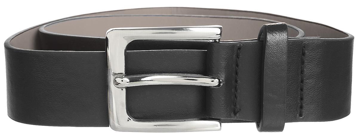 Ремень для мальчика Scool, цвет: черный. 373716. Размер 93373716Ремень для мальчика выполнен из качественного полиуретана. Пряжка квадратной формы выполнена из металла.