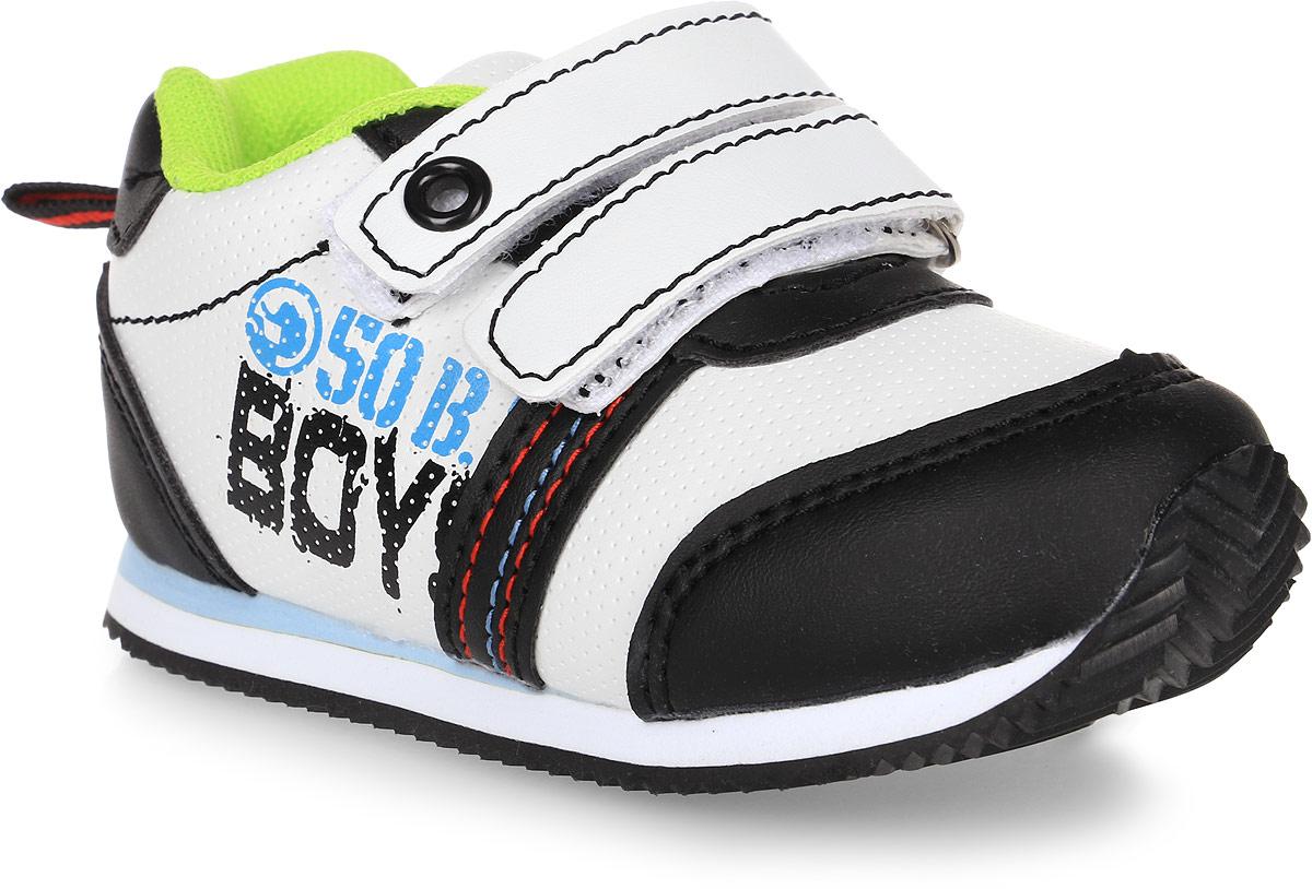 Кроссовки для мальчика Tom&Miki, цвет: черный. B-1047. Размер 21B-1047-AКроссовки для мальчика Tom&Miki изготовлены из качественной искусственной кожи. Липучки надежно зафиксируют обувь на ноге. Мягкая подкладка выполнена из кожи и текстиля. Подошва оснащена рифлением для лучшего сцепления с различными поверхностями. Такие кроссовки - отличный вариант на каждый день.