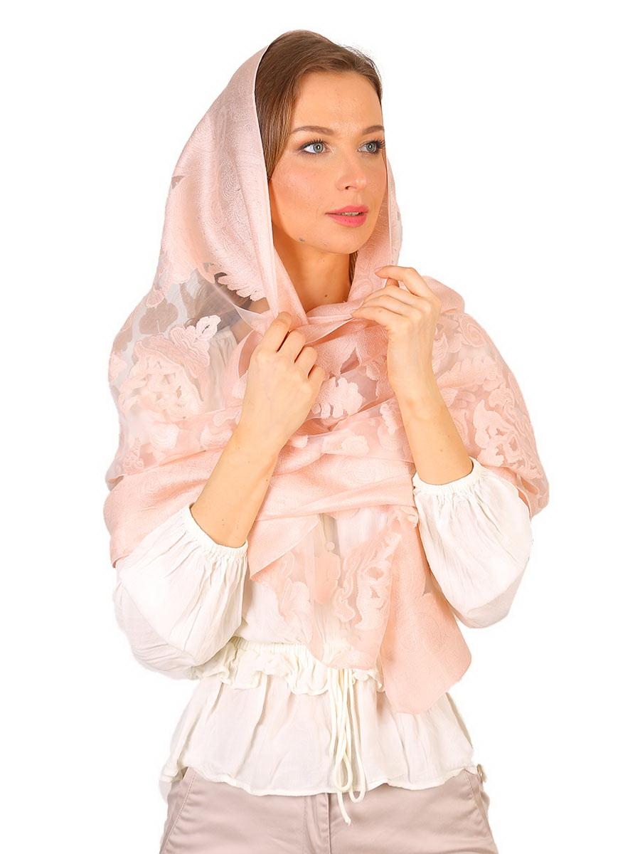 Палантин женский Venera, цвет: светло-розовый. 4800901-05. Размер 70 х 180 см4800901-05Стильный палантин Venera выполнен из полупрозрачного итальянского шелка. Оригинальное изделие декорировано растительным принтом. Такой палантин смотрится превосходно и дополняет наряд элегантым штрихом.