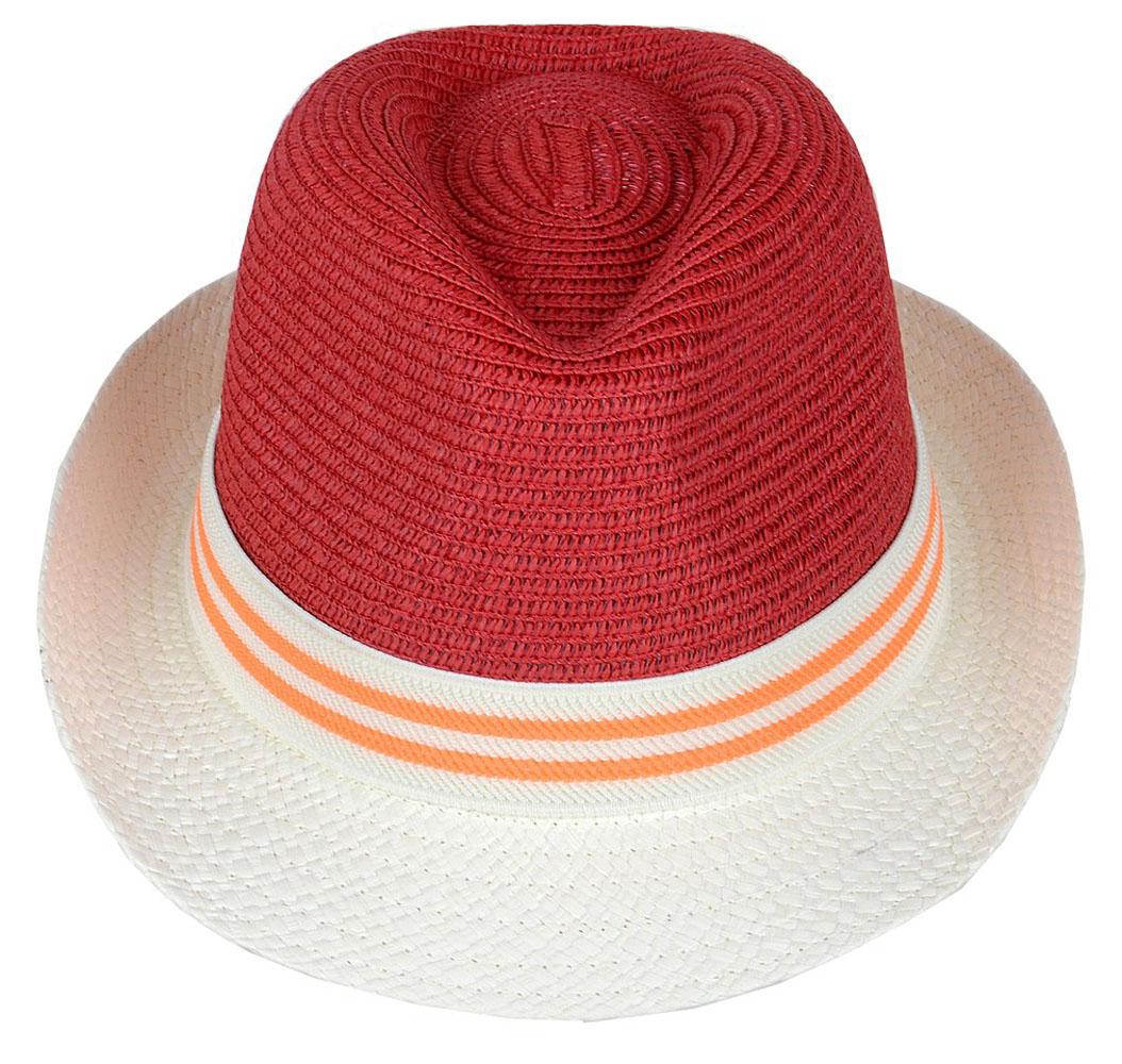Шляпа женская Dispacci, цвет: красный. 7714. Размер 56/587714Классическая шляпа Dispacci непременно украсит любой наряд. Модель оформлена трикотажным контрастным ремешком вокруг тульи. Благодаря своей форме, шляпа удобно садится по голове и подойдет к любому стилю. Шляпа легко восстанавливает свою форму после сжатия. Такая шляпа подчеркнет вашу неповторимость и дополнит ваш повседневный образ.