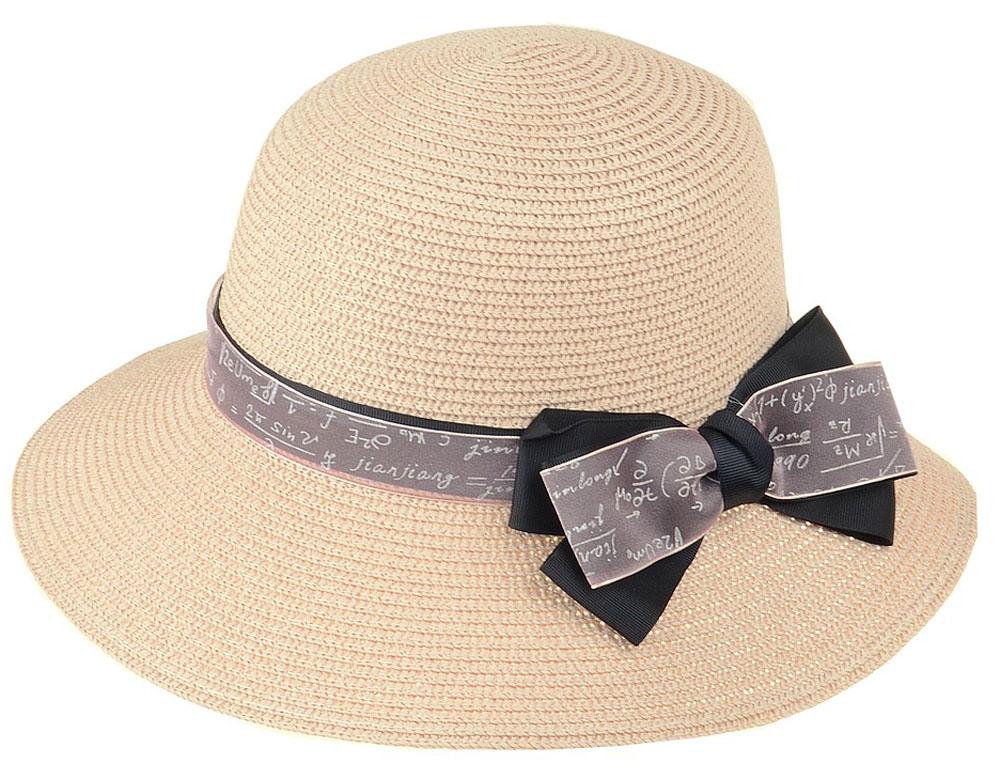 Шляпа женская Dispacci, цвет: розовый. 51962. Размер 56/5851962Шляпа Dispacci украсит любой наряд. Шляпа оформлена декоративным бантом. Благодаря своей форме, модель удобно садится по голове и подойдет к любому стилю. Такая шляпка подчеркнет вашу неповторимость и дополнит ваш повседневный образ.