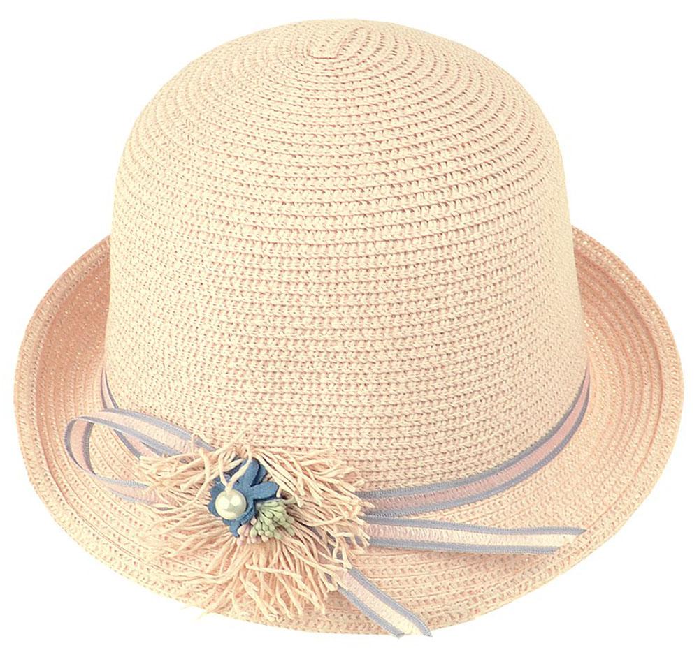 Шляпа женская Dispacci, цвет: розовый. 51970. Размер 56/5851970Шляпа Dispacci украсит любой наряд. Шляпа с небольшими полями оформлена декоративным цветком и бусиной. Благодаря своей форме, модель удобно садится по голове и подойдет к любому стилю. Такая шляпка подчеркнет вашу неповторимость и дополнит ваш повседневный образ.