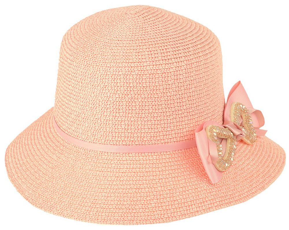 Шляпа женская Dispacci, цвет: розовый. 51971. Размер 56/5851971Шляпа Dispacci украсит любой наряд. Шляпа с небольшими полями оформлена декоративным цветком расшитым бисером. Благодаря своей форме, модель удобно садится по голове и подойдет к любому стилю. Такая шляпка подчеркнет вашу неповторимость и дополнит ваш повседневный образ.