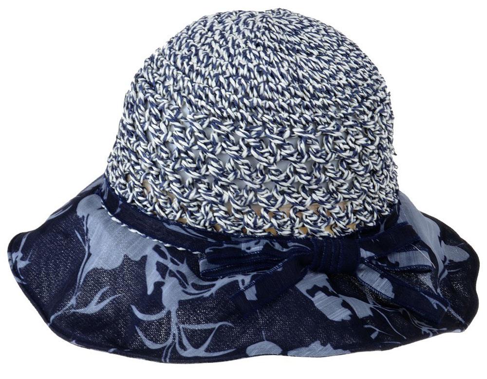 Шляпа женская Dispacci, цвет: синий. 51964. Размер 56/5851964Шляпа Dispacci непременно украсит любой наряд. Благодаря своей форме, шляпа удобно садится по голове и подойдет к любому стилю. Шляпа легко восстанавливает свою форму после сжатия. Такая шляпа подчеркнет вашу неповторимость и дополнит ваш повседневный образ.