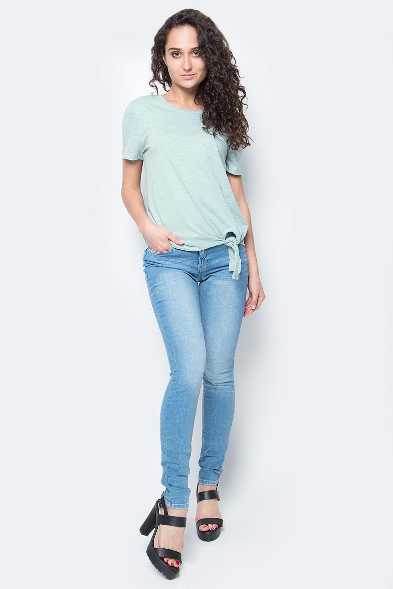 Джинсы женские Tom Tailor, цвет: синий. 6205364.09.71_1051. Размер 27-32 (42/44-32)6205364.09.71_1051Женские джинсы Tom Tailor выполнены из высококачественного материала. Модель на талии застегивается на металлическую пуговицу и имеет ширинку на застежке-молнии, а также шлевки для ремня. Джинсы имеют классический пятикарманный крой: спереди два втачных кармана и один накладной кармашек, а сзади - два накладных кармана.