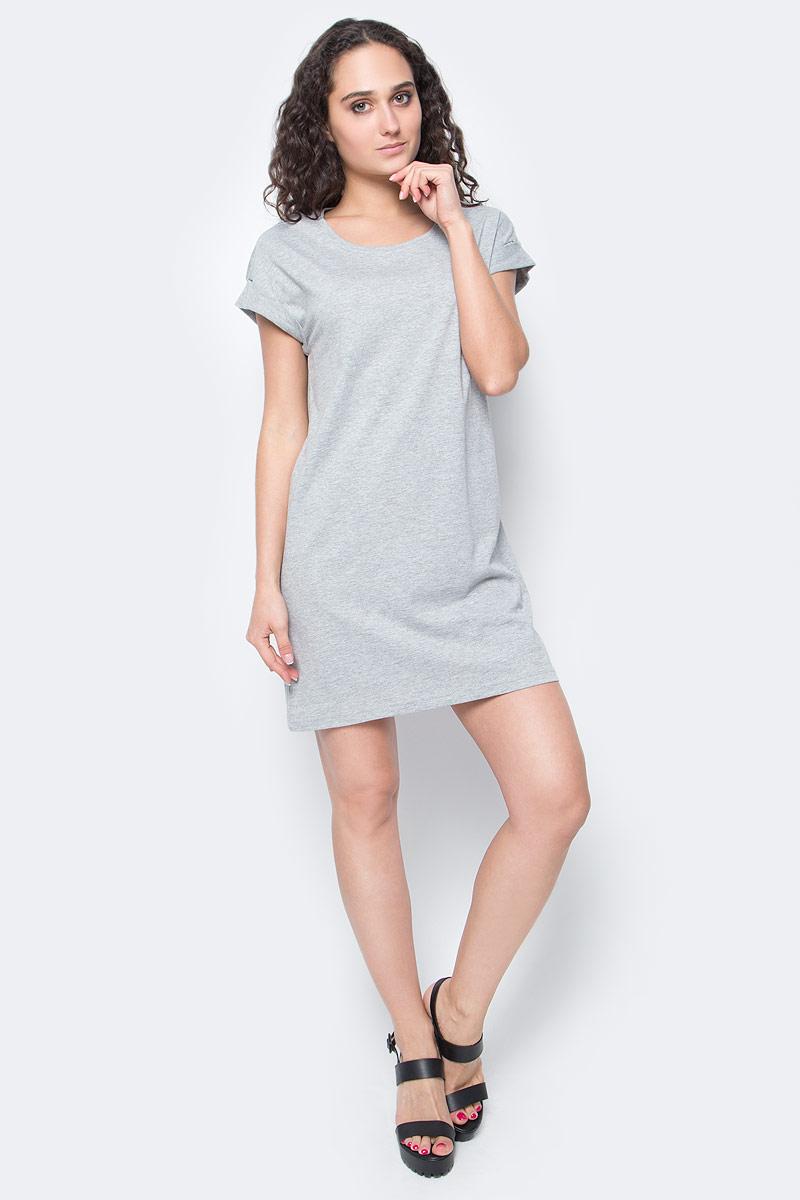 Платье Only, цвет: серый. 15136860_Light Grey Melange. Размер L (48)15136860_Light Grey MelangeЖенское повседневное платье Only изготовлено из мягкого трикотажа, послужит идеальным дополнением к вашему гардеробу.