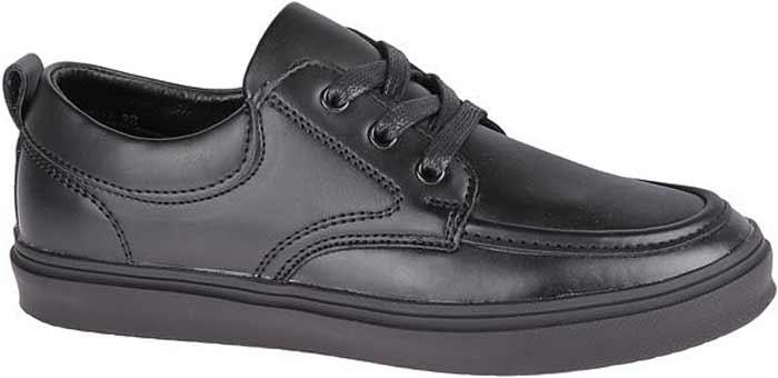 Полуботинки для мальчика Сказка, цвет: черный. R386623311. Размер 34R386623311Стильные полуботинки от бренда Сказка займут достойное место среди коллекции обуви вашего мальчика. Модель выполнена из натуральной и искусственной кожи и оформлена прострочкой. Подъем оформлен шнуровкой, которая надежно зафиксирует обувь на ноге. Внутренняя поверхность и стелька, изготовленные из натуральной кожи, обеспечат ногам комфорт и уют. Подошва с рифлением гарантирует отличное сцепление с любой поверхностью. Трендовые полуботинки придутся по душе вашему мальчику.