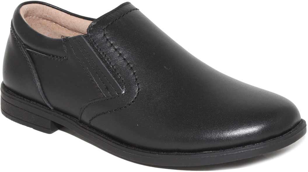 Туфли для мальчика Капитошка, цвет: черный. C7058. Размер 33C7058Стильные туфли для мальчика Капитошка выполнены из натуральной кожи. Эластичные вставки по бокам обеспечивают идеальную посадку модели на ноге. Внутренняя поверхность и стелька из натуральной кожи обеспечат комфорт при движении. Подошва с рифлением обеспечивает отличное сцепление с любой поверхностью. Трендовые туфли придутся по душе вашему мальчику.