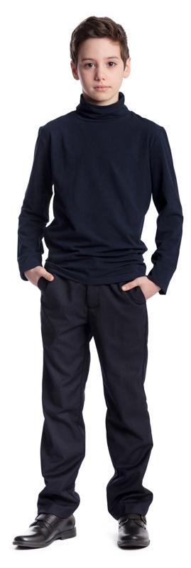 Водолазка для мальчика Scool, цвет: темно-синий. 373455. Размер 164, 14 лет373455Водолазка для мальчика Scool изготовлена из эластичного хлопка. Состав ткани обеспечивает отличную посадку изделия на фигуре.Водолазка с воротником-гольф и длинными рукавами сможет быть одной из базовых вещей детского повседневного гардероба. Модель хорошо сочетается с брюками и джинсами.